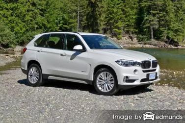 Insurance rates BMW X5 in Phoenix