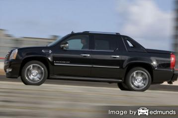 Insurance rates Cadillac Escalade EXT in Phoenix