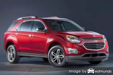Insurance quote for Chevy Equinox in Phoenix