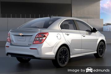 Insurance rates Chevy Sonic in Phoenix