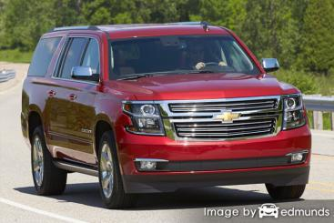 Insurance rates Chevy Suburban in Phoenix