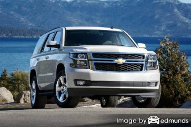 Insurance rates Chevy Tahoe in Phoenix