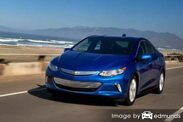 Insurance rates Chevy Volt in Phoenix