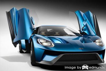 Insurance rates Ford GT in Phoenix
