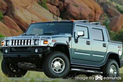 Insurance quote for Hummer H2 SUT in Phoenix