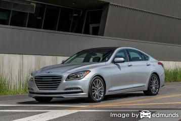 Insurance quote for Hyundai G80 in Phoenix