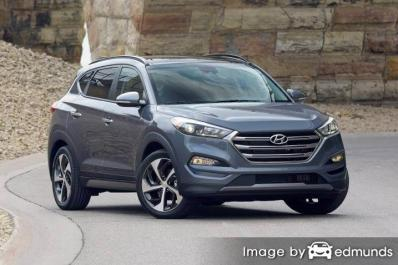 Discount Hyundai Tucson insurance