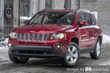 Discount Jeep Compass insurance