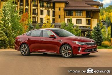 Insurance rates Kia Optima in Phoenix