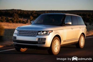 Insurance rates Land Rover Range Rover in Phoenix