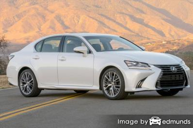 Insurance quote for Lexus GS 350 in Phoenix