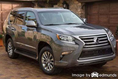 Insurance rates Lexus GX 460 in Phoenix