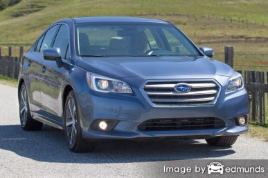 Insurance quote for Subaru Legacy in Phoenix