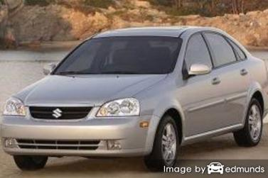 Insurance rates Suzuki Forenza in Phoenix