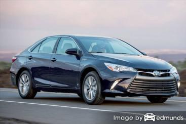 Insurance rates Toyota Camry Hybrid in Phoenix